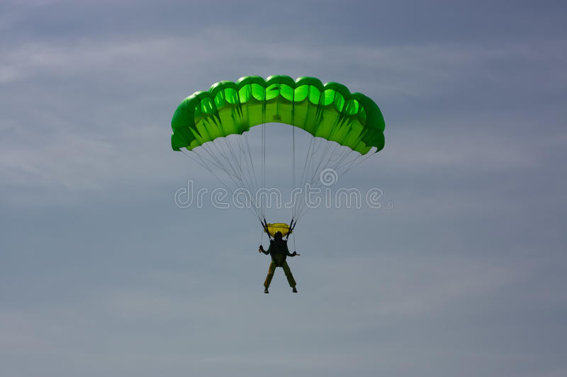 Download Paratrooper stock photo. Image of blue, motor, event - 18083908