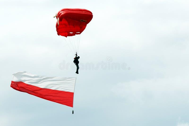 Paratrooper stock image