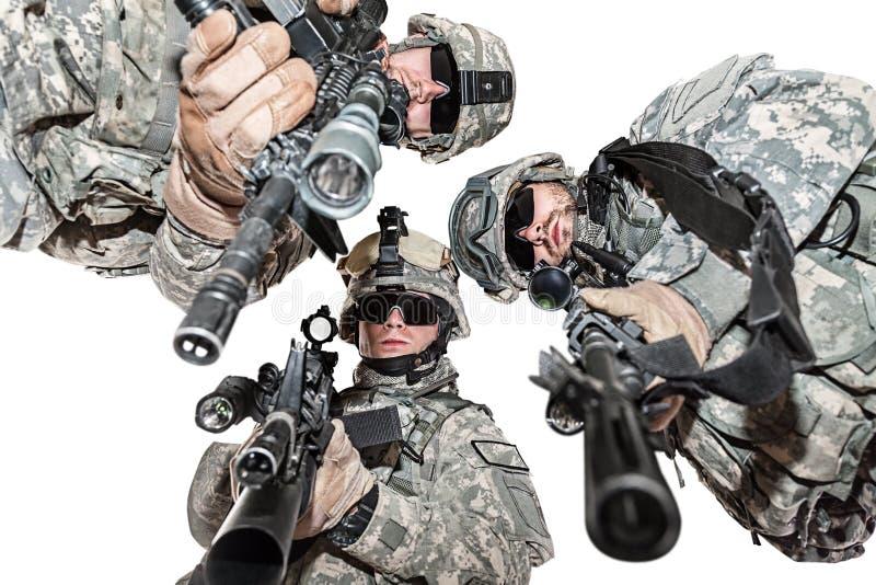paratroopers imagens de stock royalty free
