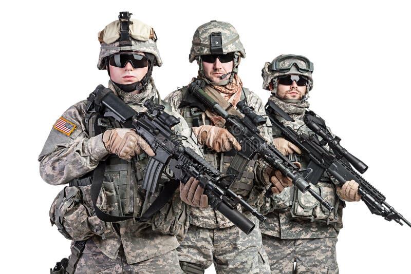 paratroopers fotografia de stock royalty free