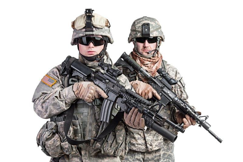 paratroopers imagem de stock