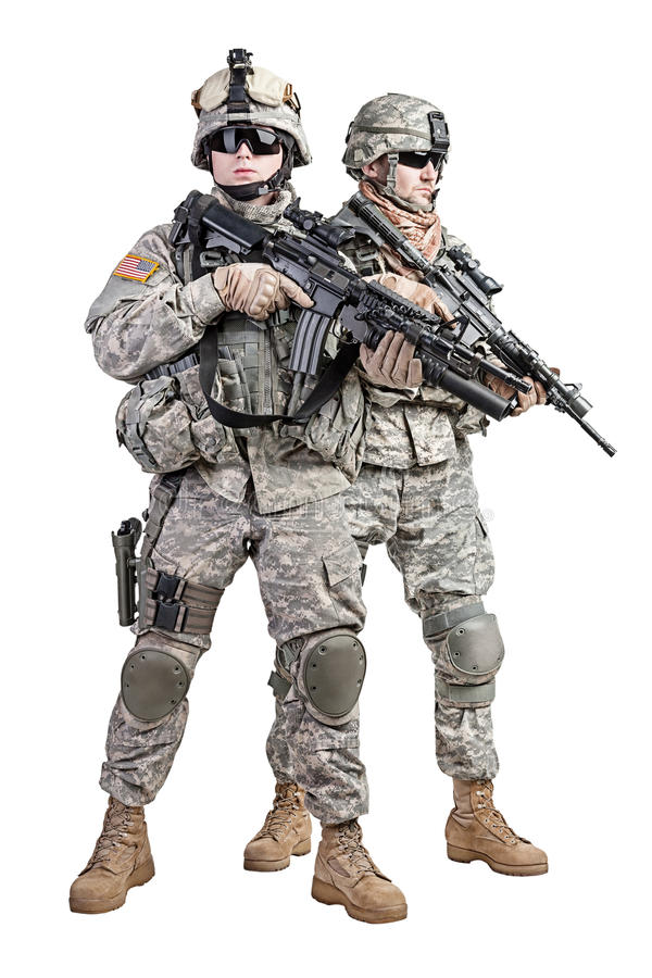 Paratroopers stock images