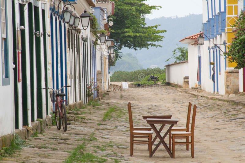 Paraty, Brasile immagini stock