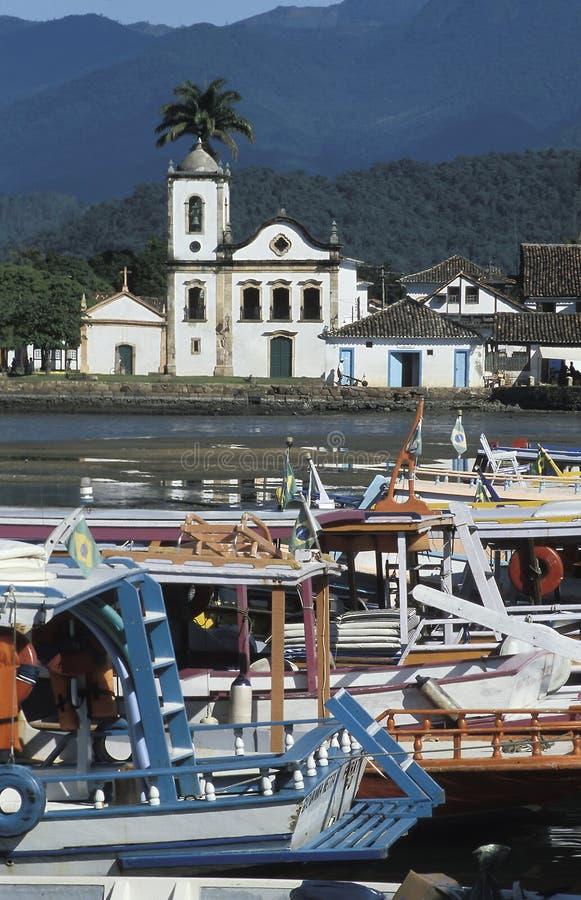 Paraty, estado de Rio de Janeiro, el Brasil fotos de archivo libres de regalías