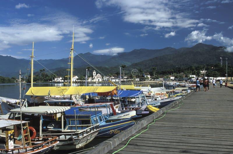 Paraty, estado de Rio de Janeiro, el Brasil imagen de archivo