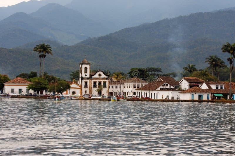 Download Paraty Historical City Santa Rita Church Stock Photo - Image: 5762910
