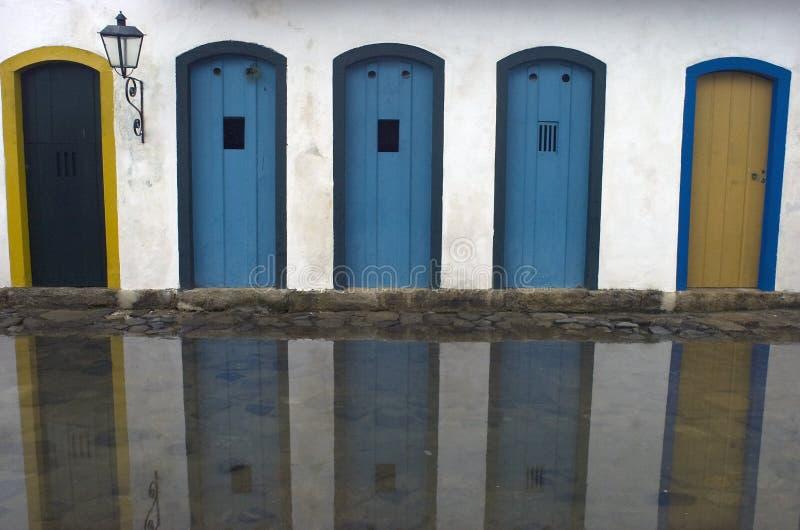 Paraty. Il Brasile immagini stock libere da diritti