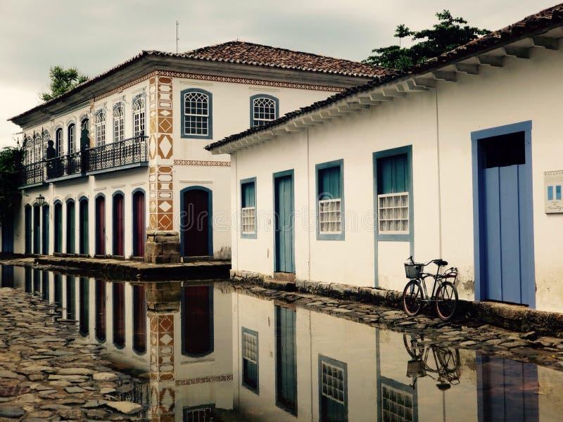 Paraty rio de janeiro stock photo