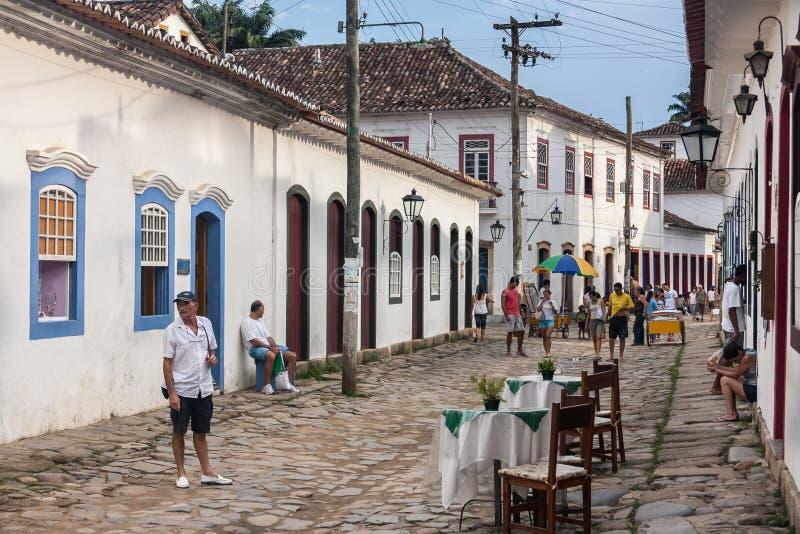 Paraty Rio de Janeiro constructivo histórico imágenes de archivo libres de regalías