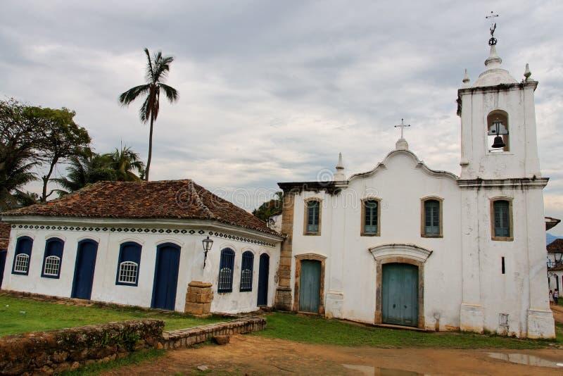 paraty santa της Ρίτα εκκλησιών στοκ εικόνα με δικαίωμα ελεύθερης χρήσης
