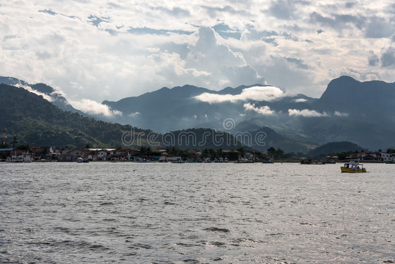 Paraty zatoka Rio De Janeiro Brazylia obrazy stock