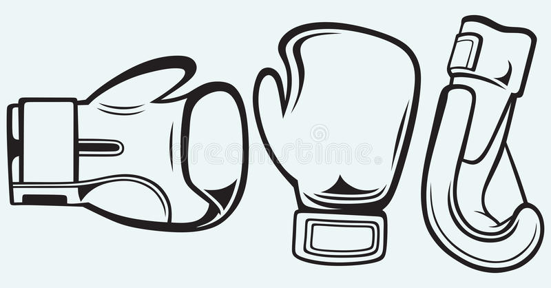 Parboxninghandskar vektor illustrationer