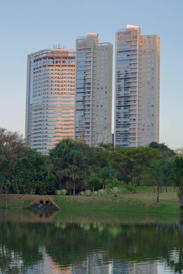 Parc à Goiania image libre de droits