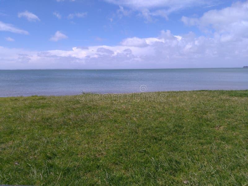 Parc à la plage photo libre de droits