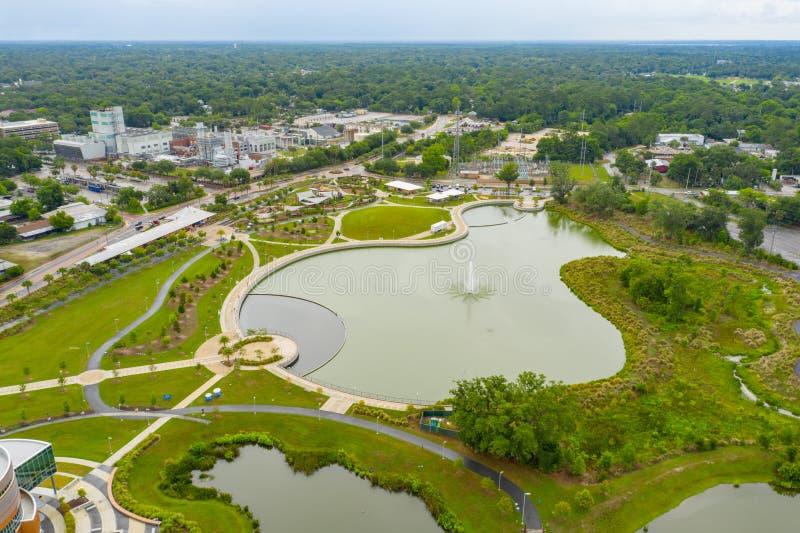 Parc aérien Gainesville FL de dépôt de photo photographie stock