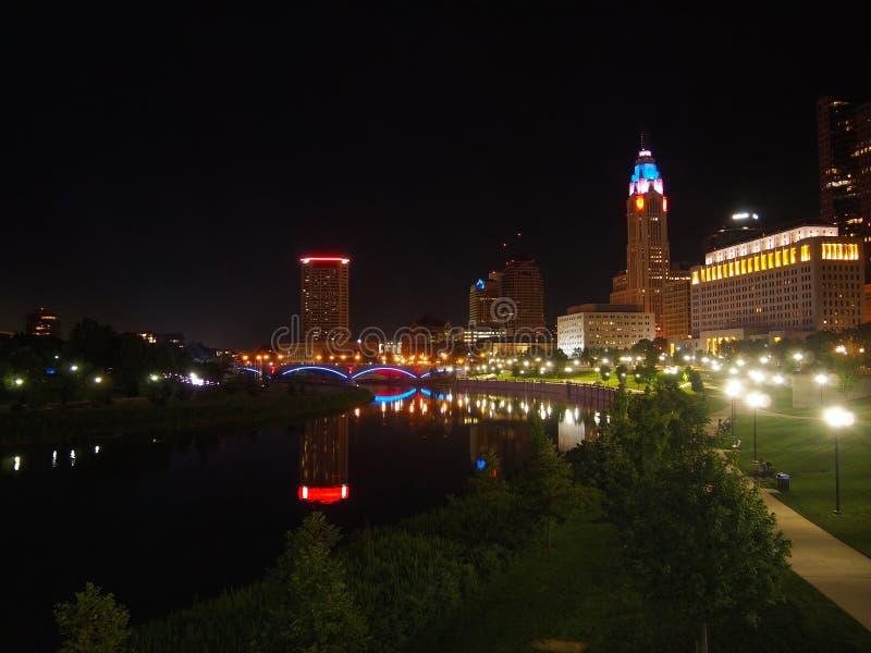Parc bicentenaire en Columbus Ohio image libre de droits