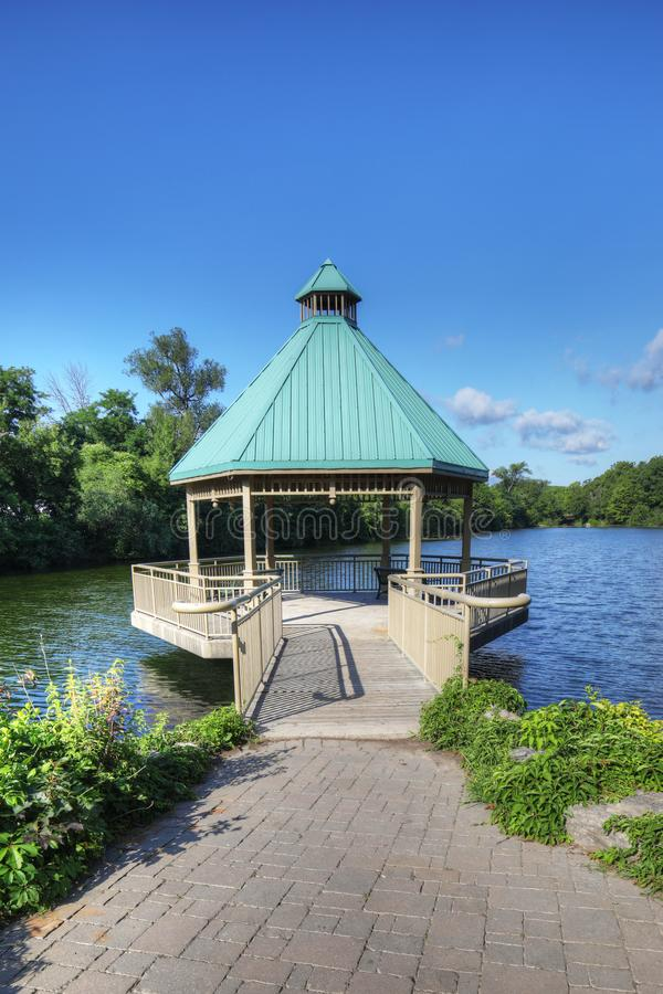 Parc centennal, Milton, Ontario, Canada photos libres de droits