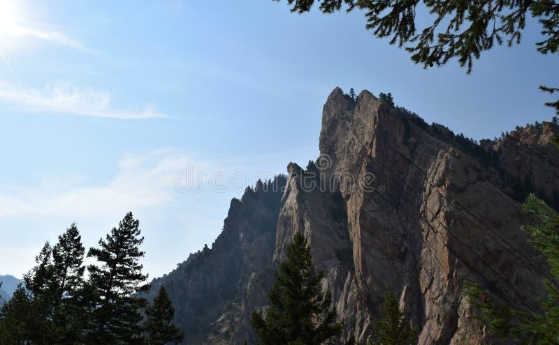 Parc d'état de canyon d'Eldorado dans le Colorado photo stock