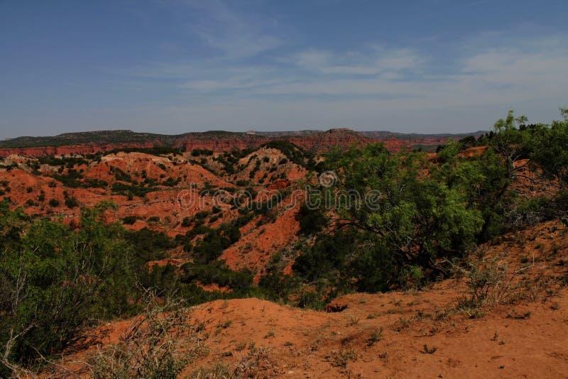 Parc d'état de canyons de Caprock photo libre de droits