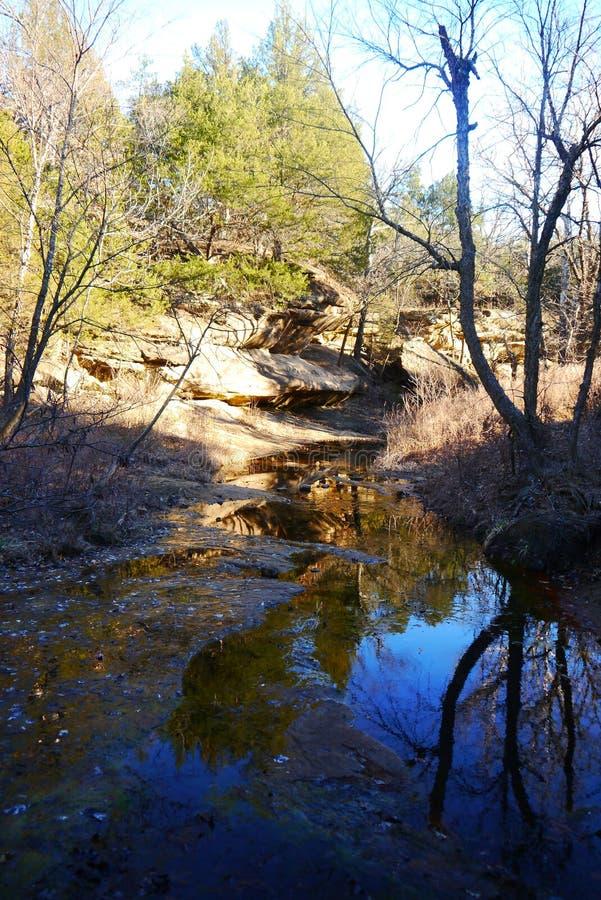 Parc d'état de collines d'Osage photos libres de droits