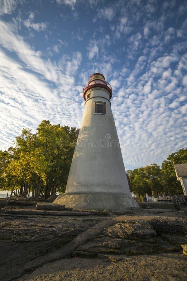Parc d'état de phare de Marblehead photos libres de droits
