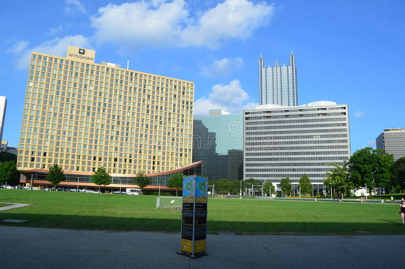Parc d'état de point Pittsburgh image libre de droits