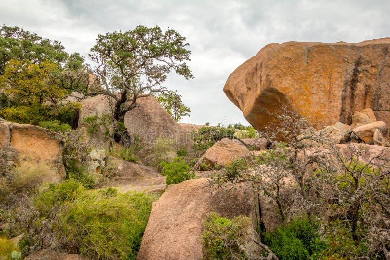 Parc d'état enchanté de roche photos stock