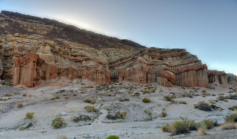 Parc d'état rouge de canyon de roche, la Californie photo libre de droits
