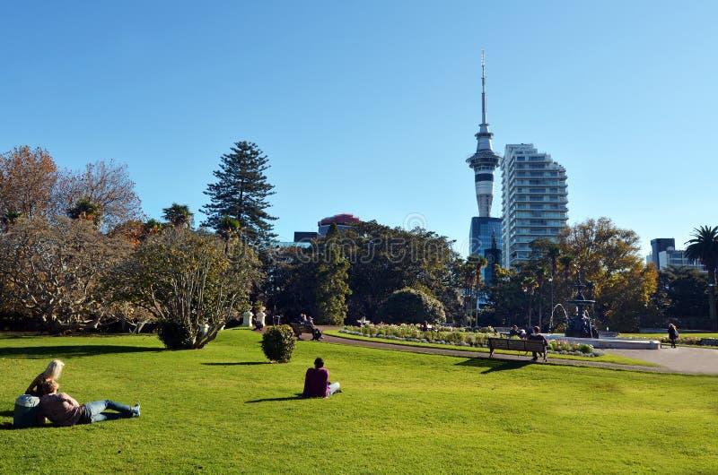 Parc d'Albert à Auckland Nouvelle-Zélande images stock