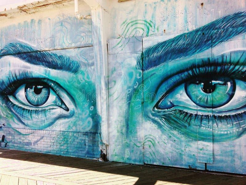 Parc d'Asbury, yeux, Tremendeus photo libre de droits