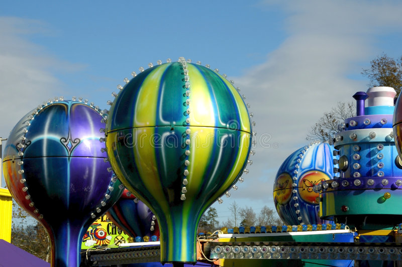 Parc d'attractions photo stock