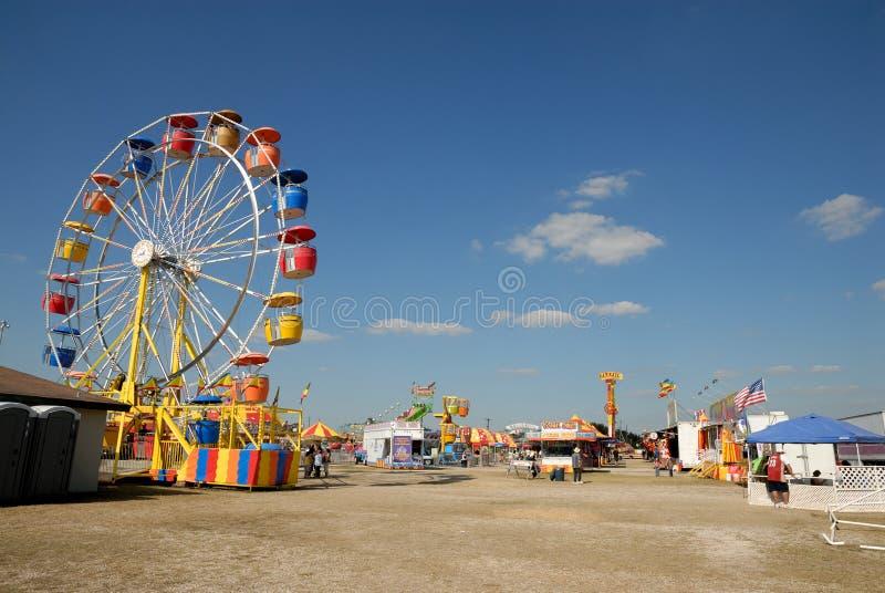 Parc d'attractions dans le Texas image stock