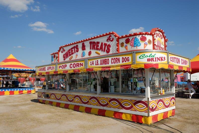 Parc d'attractions dans le Texas images libres de droits