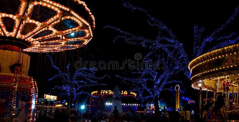 Parc d'attractions de Londres image libre de droits