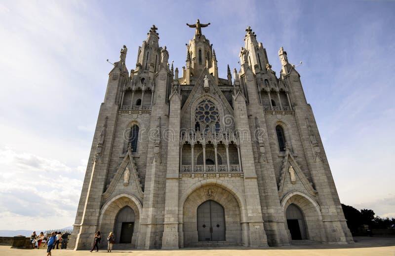 Parc d'attractions de Tibidabo de Barcelone image stock