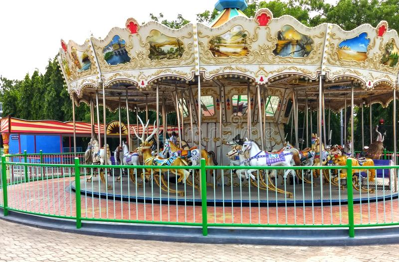 Parc d'attractions de ville de film de Ramoji - Hyderabad, Inde photo stock