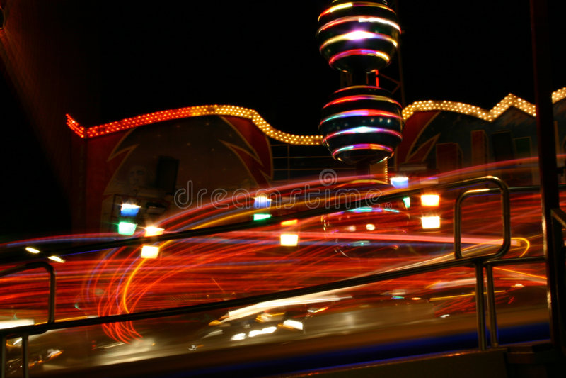 Parc d'attractions : Prater (Vienne/Autriche) images libres de droits