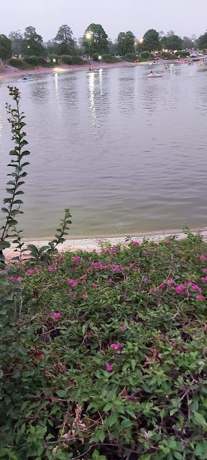 Parc d'Iqbal de Gulshan Lahore Pakistan images libres de droits