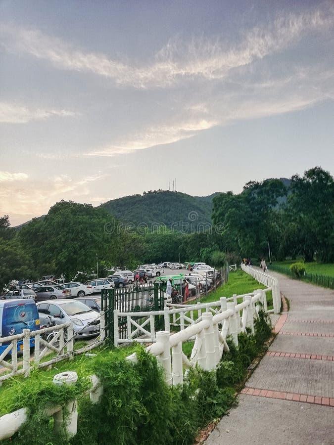 Parc d'Islamabad photos libres de droits