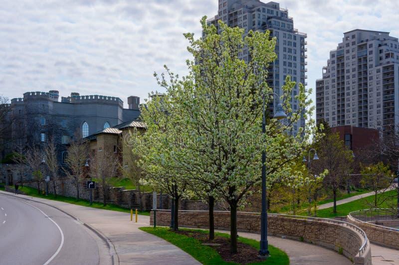 Parc d'Ivey, Londres, Ontario photographie stock