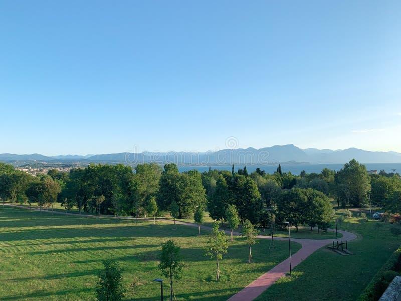Parc dans Desenzano photographie stock