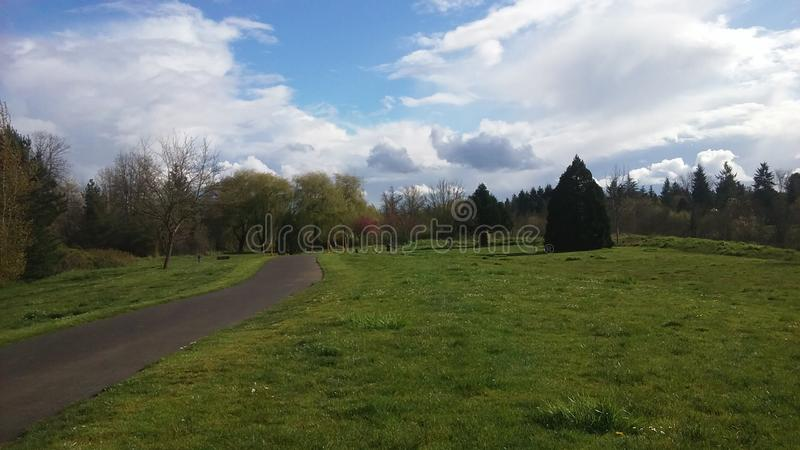 Parc dans le beaverton, OU photo libre de droits