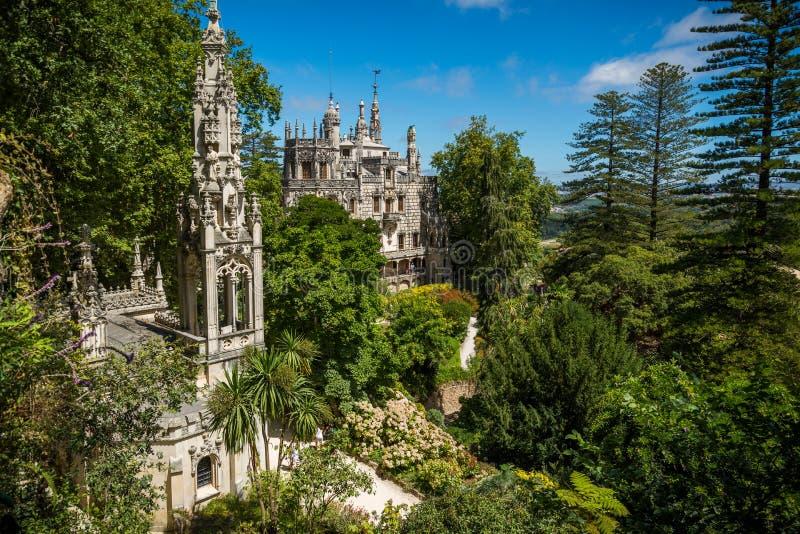 Parc dans Sintra photos libres de droits