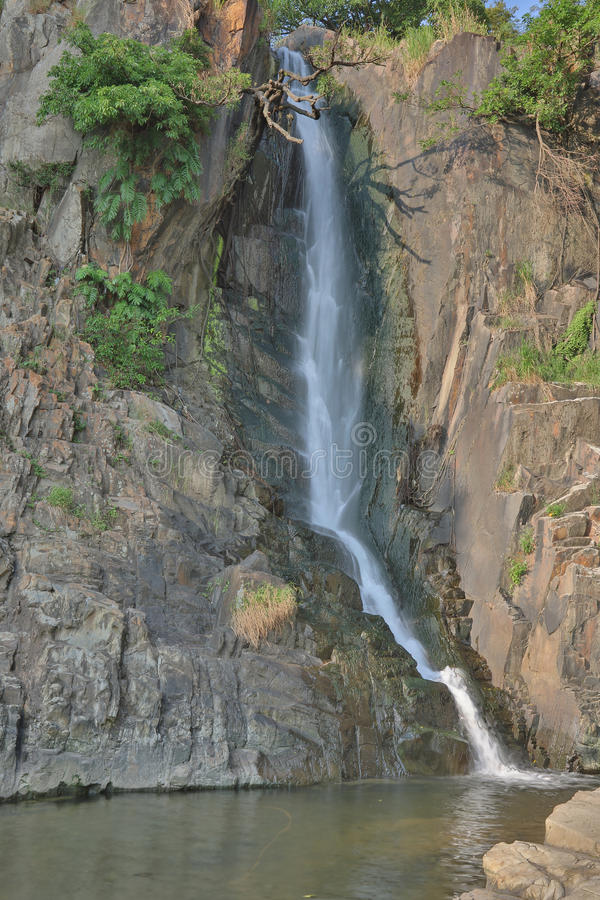 Parc de baie de cascade, HK photo stock