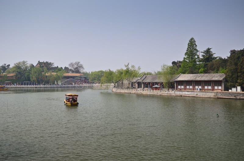 Parc de Beihai, Pékin photo libre de droits