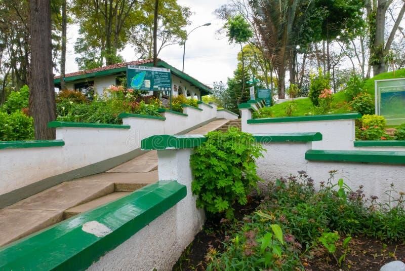 Parc de Bogota de l'entrée d'amants photographie stock libre de droits