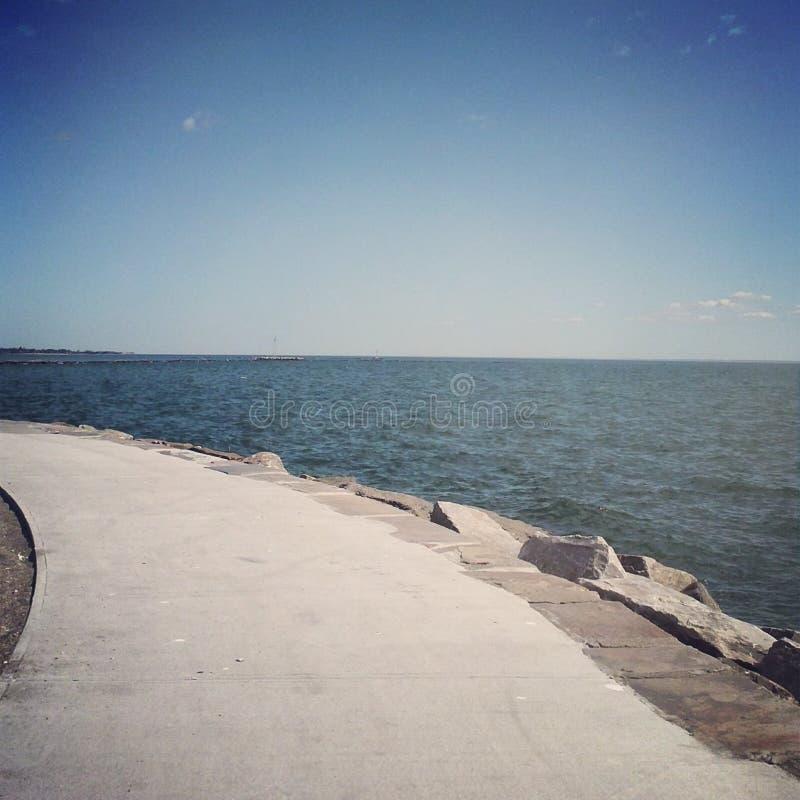 Parc de bord de la mer, Bridgeport le Connecticut photos libres de droits