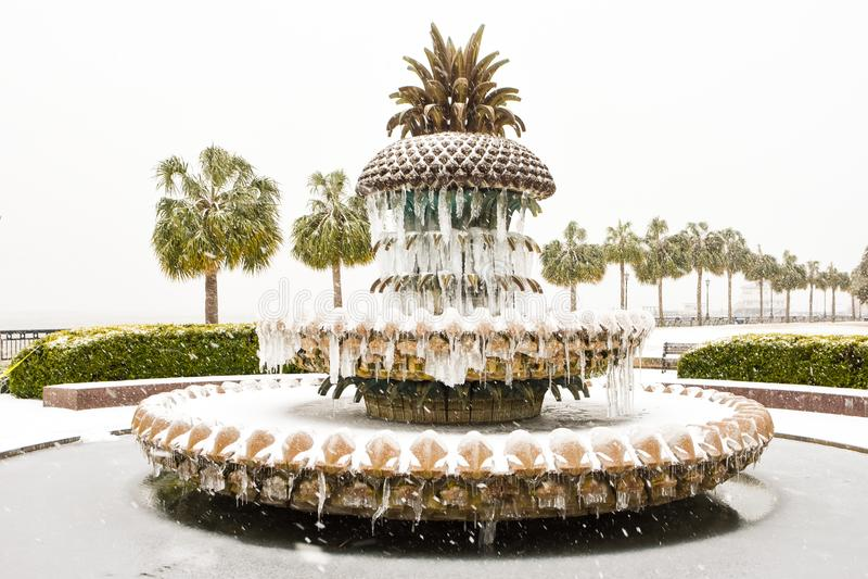 Parc de bord de mer, Charleston, Sc photographie stock libre de droits