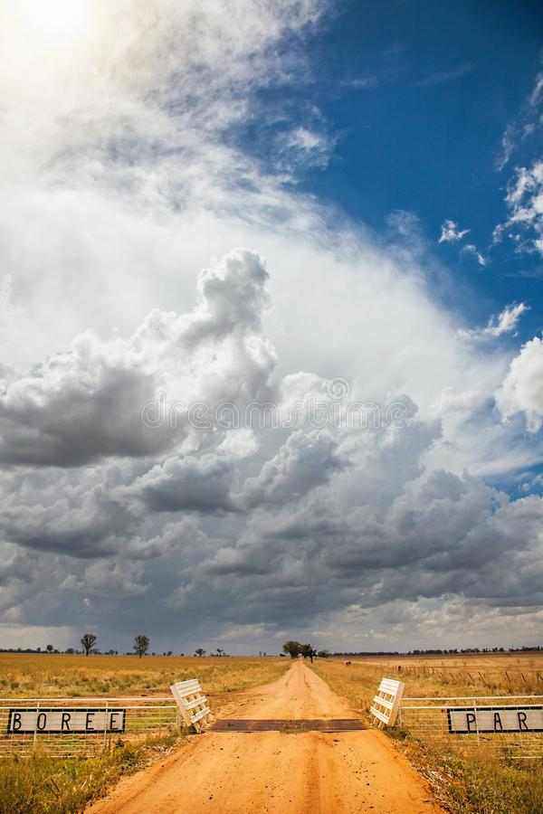 Parc de Boree à l'intérieur à l'Australie de Dubbo image stock