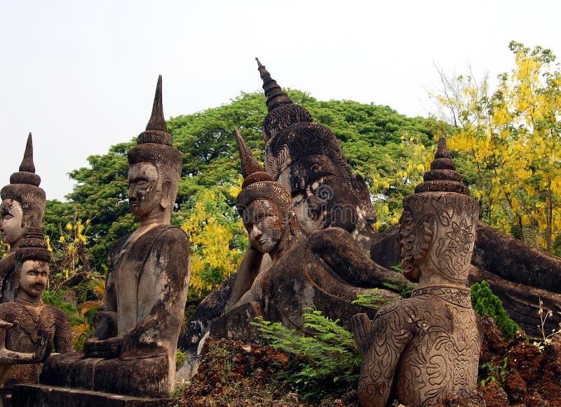 Parc de Bouddha à Vientiane photographie stock libre de droits